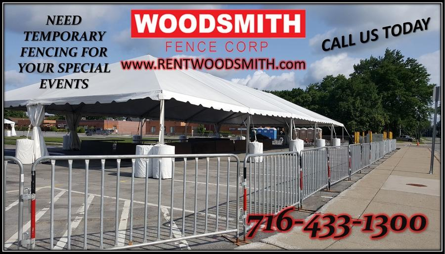 SPECIAL EVENT FENCE PANELS FOR RENT TEMPORARY FENCE BIKE