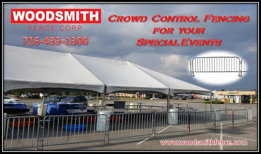 WOODSMITHFENCE.COM RENT FENCE TEMPORARY FENCE PANELS CONSTRUCTION SPECIAL EVENTS WINDSCREEN BUFFALO DEMOLITION  BARRICADES CROWED CONTROL WESTERN NEW YORK FENCE COMPANY RENTAFENCE CONCERTS PARTY  CROWED CONTROL.jpg