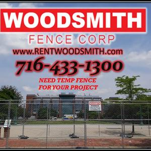 TEMP PANELS FOR JOB SITES WOODSMITHFENCE.COM RENT FENCE TEMPORARY FENCE PANELS CONSTRUCTION SPECIAL EVENTS WINDSCREEN BUFFALO DEMOLITION  BARRICADES CROWED CONTROL WESTERN NEW  fence YORK FENCE COMPANY  .jpg