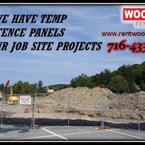 TEMP PANELS FOR JOB SITES WOODSMITHFENCE.COM RENT FENCE TEMPORARY FENCE PANELS CONSTRUCTION SPECIAL EVENTS WINDSCREEN BUFFALO DEMOLITION  BARRICADES CROWED CONTROL WESTERN NEW YORK FENCE COMPANY RENTAFENCE.jpg