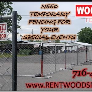 need temporary fence for special events rentwoodsmith.com rent fence buffalo rents fence fence company western new york fence.jpg