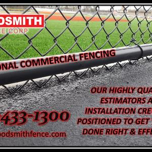 Commercial Fencing High Security Fencing and Enclosures, Guardrails, Bollards, Gates and Controllers, Dumpster Enclosures, woodsmithfence.com buffalo.jpg