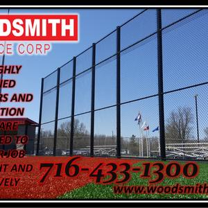 Commercial Fencing High Security Fencing and Enclosures, Guardrails, Bollards, Gates and Controllers, Dumpster Enclosures, woodsmithfence.com fence company in buffalo western new york.jpg