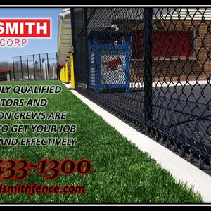 Commercial Fencing High Security Fencing and Enclosures, Guardrails, Bollards, Gates and Controllers, Dumpster Enclosures, woodsmithfence.com.jpg